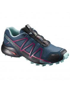 Speedcross 4 Cs W Azul-bordo