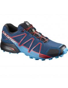 Speedcross 4 Azul-celeste-rojo