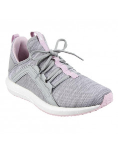 Mega Nrgy Heather Knit W Gris-rosa