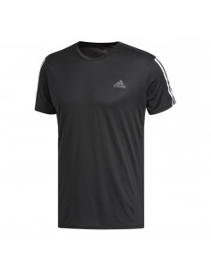 Remera Run It 3s Negro Dm1665