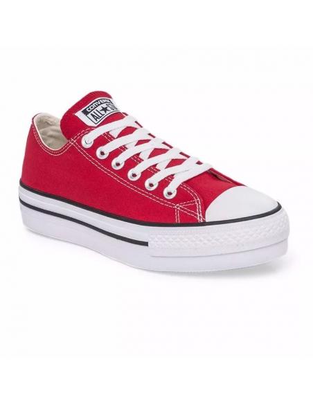Zapatillas Converse Chuck Taylor Platform Rojo