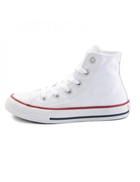 Zapatillas Converse Chuck Taylor Hi Kids Blanco