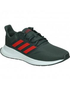 Zapatillas Adidas Runfalcon Gris-rojo Eg8602
