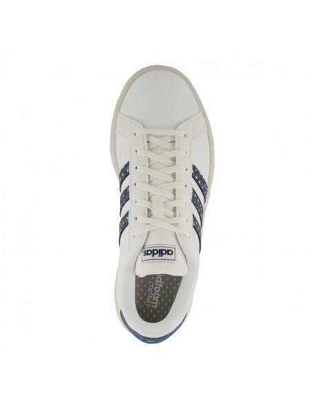 Zapatillas Adidas Grand Court Mujer Blanco-azul Eh1111