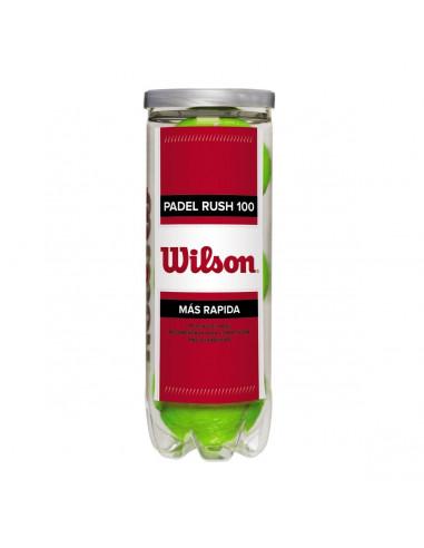Tubo Pelotas Wilson Padel Rush X3