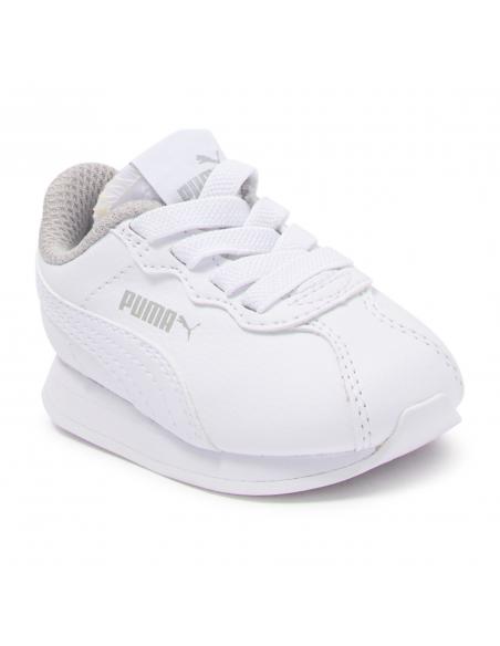 Zapatillas Puma Turin Ii Bebe Blanco