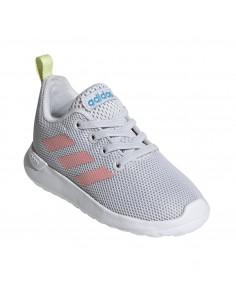 Zapatillas Adidas Lite Racer Cln I Niños Gris-rosa Eg4013