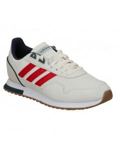 Zapatillas Adidas 8k 2020 Blanco-rojo Eg4758