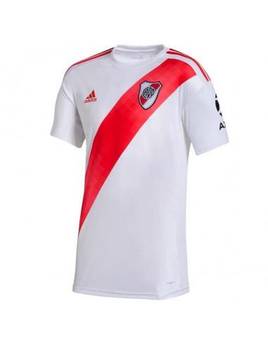 Camiseta Adidas River Plate Oficial Blanco-rojo Fm1182