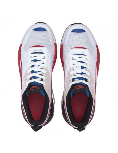 Zapatillas Puma X Ray Game Blanco-azul-rojo