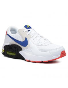 Zapatillas Nike Air Max Excee Blanco-azul Cd4165-101